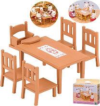 Epoch Sylvanian Families Möbelset Esstisch für