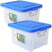 eprovo 2 Stück Curver Box Aufbewahrungsbox