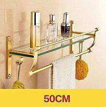 EQEQ Badezimmer Regal Bad Handtuchhalter,