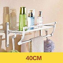 EQEQ Badezimmer Regal Bad Handtuchhalter, Regale,
