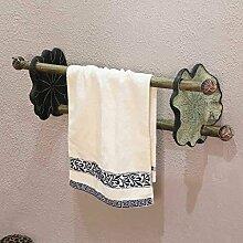 EQEQ Badezimmer Regal Chinesischen Handtuchhalter