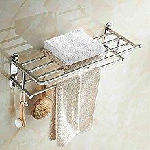 EQEQ Badezimmer Regal Mit Handtuchhalter Kostenlos