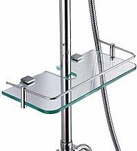 EQEQ Badezimmer Regal Rack Waschraum Mit Dusche An