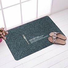 EQEQ Teppiche schwarze Küche Teppich Küche