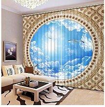 Eqwr Blackout Schlafzimmer Dekoration Vorhang Für