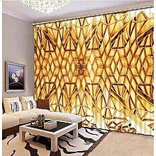 Eqwr Moderne Vorhang Blackout Kreative Vorhang