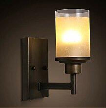 ERCZYO Retro-Wandlampe für Nachttisch,