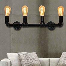 ERCZYO Retro Wasserpfeife Wandlampe Industrielle