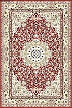 Erdenet Teppich Klassisch, 200x300 cm, Wolle, rot