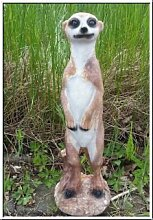 Erdmännchen Figur stehend 30cm !WETTERFEST! NEU