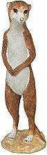 Erdmännchen Gartendeko Gartenfigur 38 cm lebensgroß Polystone Des. A