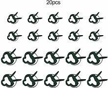Erduo 20PCS Durable Kunststoff Garten Clips Garten