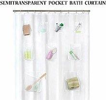 erferein Duschvorhang, transparenter Duschvorhang