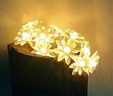 ERGEOB Sonnenblume LED Lichterketten, Gartenbaum