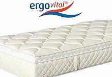Ergovital Swissplus® Premium-Kaltschaum-Matratze, Größe:160 x 200 cm;Härtegrad:H2