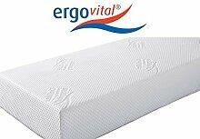Ergovital Vitalwell Premium-Viscoschaum-Matratze mit Kaltschaumträger 100 Punkte im LGA-Test, Größen Matratzen:180 x 190 cm;Härtegrad Matratzen:H2