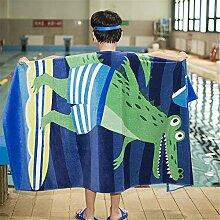 Erhöhen Sie dickere Badetuch Erwachsene Kinder