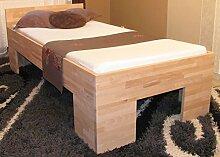 erhöhtes Holzbett Seniorenbett 100x200cm für