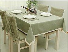 Erica Fresh Cotton Tischdecken/Kissen Serie/Möbel Tischdecke 2-140220 #2