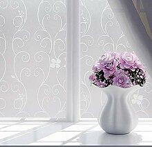 Ericcay Fensterfolie Selbstklebend Sichtschutz
