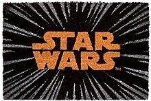 Erik® Star Wars Logo Fussmatte, 40x60cm