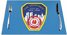 Ering6o New York City Feuerwehr gewebte