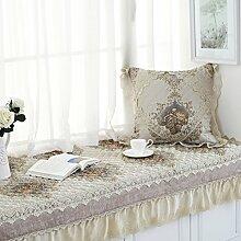 Erker-mat fensterbank-pad europäische teppich simple modern balkon mat schlafzimmer tatami matte vier jahreszeiten vorhandenes kissen-E 70x210cm(28x83inch)