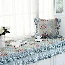 Erker-mat fensterbank-pad europäische teppich simple modern balkon mat schlafzimmer tatami matte vier jahreszeiten vorhandenes kissen-C 70x150cm(28x59inch)
