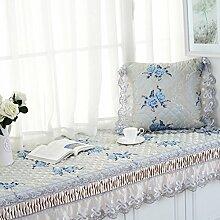 Erker-mat fensterbank-pad europäische teppich simple modern balkon mat schlafzimmer tatami matte vier jahreszeiten vorhandenes kissen-D 90x160cm(35x63inch)