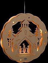ERM Holzmanufaktur 3D Fensterbild Kirche