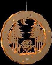 ERM Holzmanufaktur 3D Fensterbild Wildfütterung