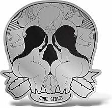 ERREINGE Cool Girlz Totenkopf Skull Aufkleber aus