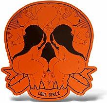 ERREINGE Cool Girlz Totenkopf Skull - Aufkleber