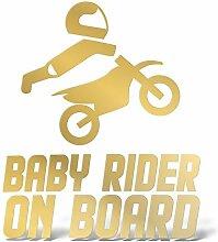 Erreinge Reiter Sticker Baby an Bord Oro