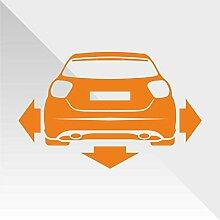 erreinge Sticker Mercedes Class A Arancione Orange