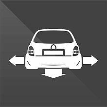 erreinge Sticker Opel Vauxhall Corsa Bianco White