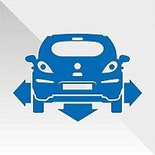 erreinge Sticker Opel Vauxhall Corsa Blu Blue Bleu