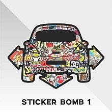 erreinge Sticker Opel Vauxhall Corsa Sticker Bomb