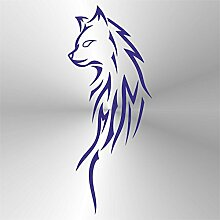 erreinge Sticker Volpe Fox Renard Zorro Fuchs Blue