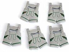 ERRO 5er Set Kunststoff Lederhose - Souvenir