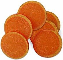 ERRO 6 Orangenscheiben Replikate - Dekoattrappe