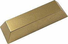 ERRO Goldbarren aus Kunststoff - Sehr Leichte