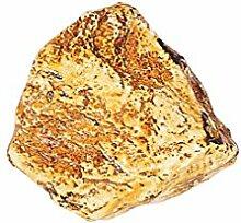 ERRO Stein A Goldbraun - Dekoattrappe aus Plastik,