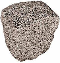 ERRO Stein Grau, würfelförmig - Dekoattrappen