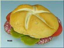 ERRO Wurst Semmel - Food Replikat, Foodstyling,