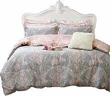 Erröten Sie rosa Mädchen Bettwäsche Set mit