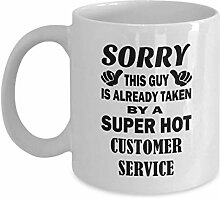 errterfte Customer Service Coffee Mugs Super Hot