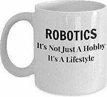 errterfte Robotics Mug Robot Coffee Robotic Gifts