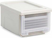ERRU- Aufbewahrungsbox Transparent Schublade Typ