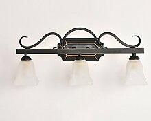 ERRU- spiegellampe Led Spiegel Vorne Licht Badezimmer Spiegel Kabinett Lichter Wand Lampe Spiegel Licht Badezimmer Wandleuchte ( größe : 53cm )